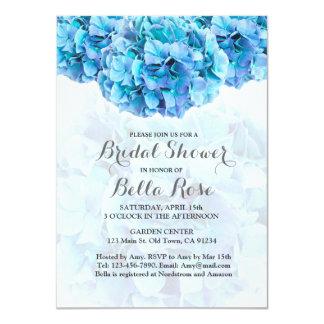 Blue Hydrangea Bridal Shower Invitations & Announcements   Zazzle