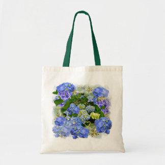 BLUE HYDRANGEA  ~ Budget Tote Bag