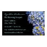 Blue Hydrangea Business Cards