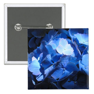 Blue Hydrangea - Button #1