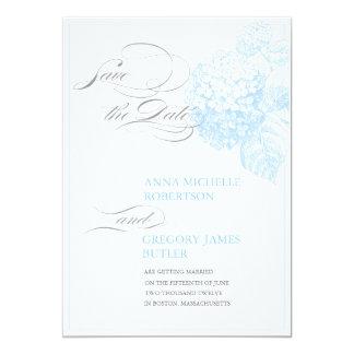 Blue Hydrangea Card