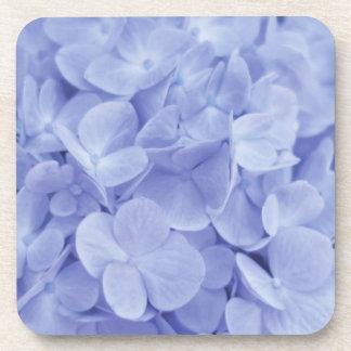 Blue Hydrangea Beverage Coasters