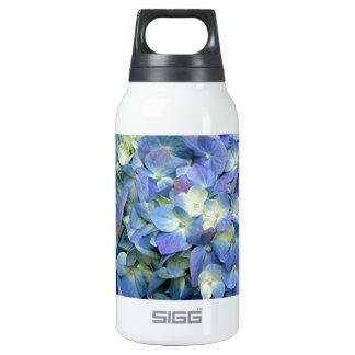 Blue Hydrangea flower in bloom Insulated Water Bottle