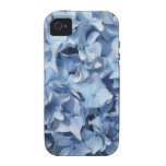 Blue Hydrangea Flower iPhone 4 Cover