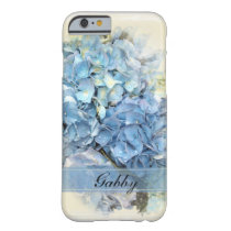 Blue Hydrangea Flowers Barely There iPhone 6 Case