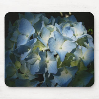 Blue Hydrangea Flowers Floral Flower Photo Mouse Pad