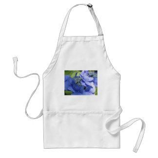Blue Hydrangea flowers (Hydrangea macrophylla) Adult Apron