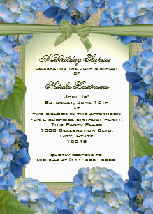 garden birthday invitations zazzle