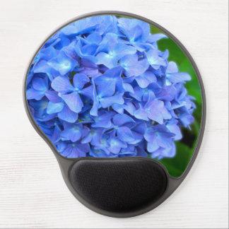 Blue Hydrangea Gel Mouse Pad