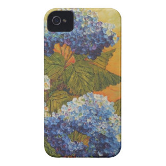 Blue Hydrangea iPhone 4 Case