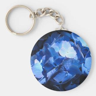 Blue Hydrangea - Keychain