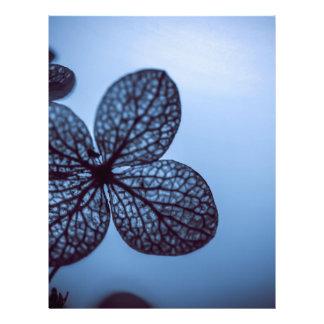 Blue Hydrangea Letterhead