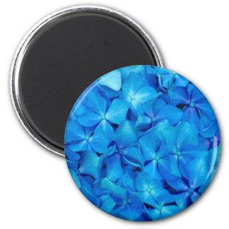 Blue Hydrangea Magnet