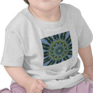 Blue Hydrangea Mandala Image 12 T-shirt