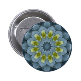 Blue Hydrangea Mandala Image 7 Button