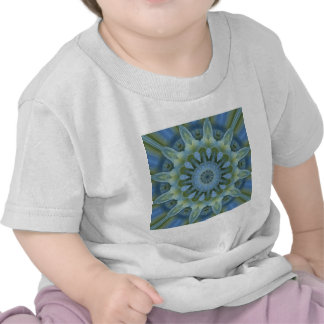 Blue Hydrangea Mandala Shirt