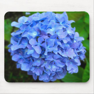 Blue Hydrangea Mouse Pad