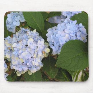 Blue Hydrangea Mousepad