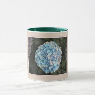 Blue Hydrangea Mug. Mug