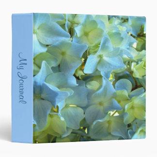 Blue Hydrangea My Journal Photo Binder