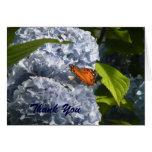 Blue Hydrangea Note Card