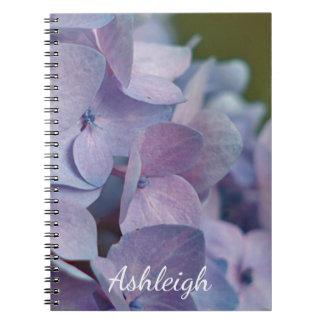 Blue Hydrangea Notebook
