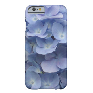 Blue Hydrangea Petals Barely There iPhone 6 Case