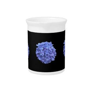 Blue Hydrangea Pitcher