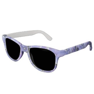Blue Hydrangea Polarized Smoke Sunglasses