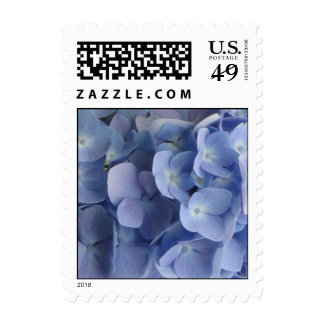 Blue Hydrangea Stamps