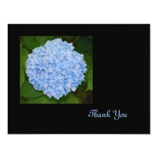 Blue Hydrangea Thank You Card