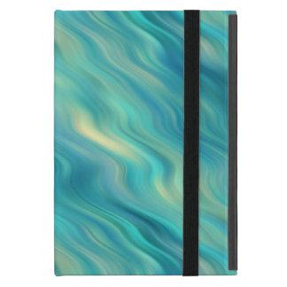 Blue Hydrangea Wavy Texture iPad Mini Cases