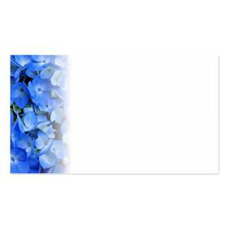 Blue Hydrangea Wedding Blank Place Cards