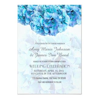 blue hydrangea wedding invitations hydrangea3