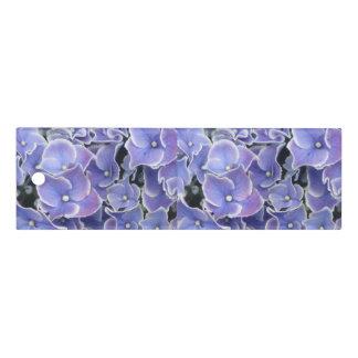 Blue Hydrangea with White Border Ruler