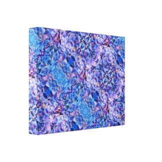 Blue Hydrangeas Flowers Photo Print