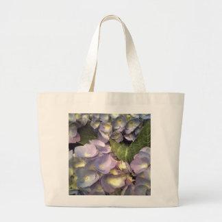 Blue Hydrangeas Large Tote Bag