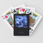 Blue Hydrangeas - Monogram Deck Of Cards