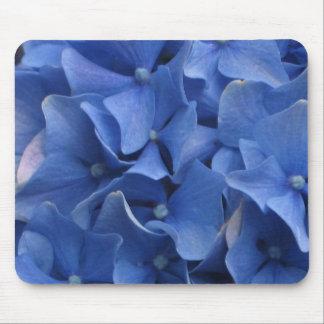 Blue Hydrangeas Mouse Pad