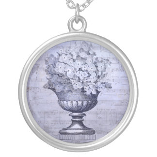 Blue Hydrangeas Necklace