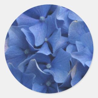Blue Hydrangeas Sticker