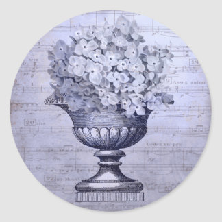 Blue Hydrangeas Stickers