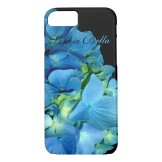 Blue Hydrangrea iPhone 8/7 Case