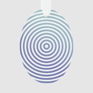 Blue hypnotic circles