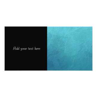 Blue Ice Abstract Artwork Card