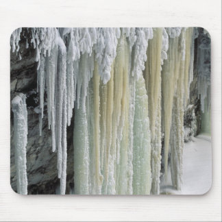 Blue Ice and Ground Water Run Off; Tahquamenon Mouse Pad