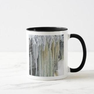Blue Ice and Ground Water Run Off; Tahquamenon Mug