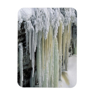 Blue Ice and Ground Water Run Off; Tahquamenon Vinyl Magnet