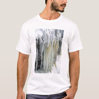 Blue Ice and Ground Water Run Off; Tahquamenon T-Shirt