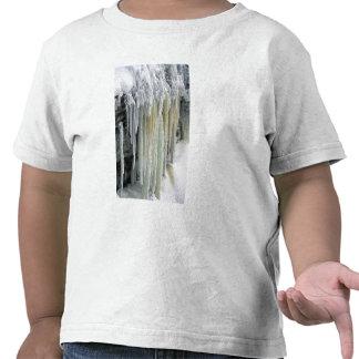 Blue Ice and Ground Water Run Off; Tahquamenon Tee Shirts